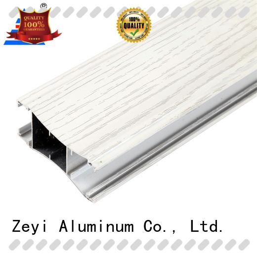 New aluminium edge profile white factory for architecture
