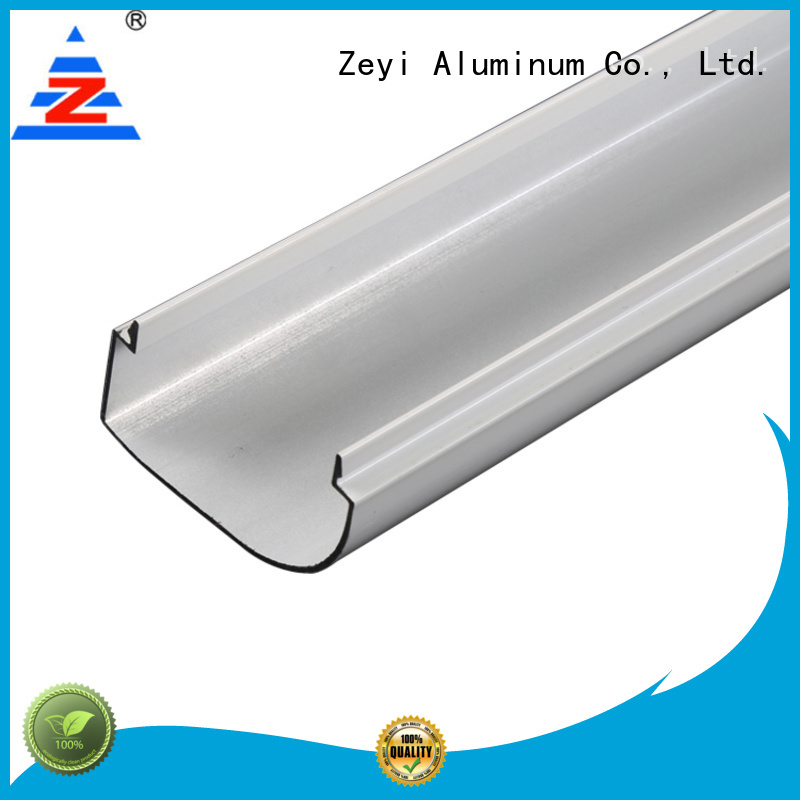 Zeyi Custom aluminium track extrusions factory for industrial