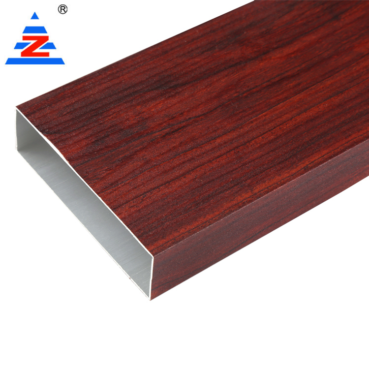 Custom aluminium wardrobe door frame extrusions