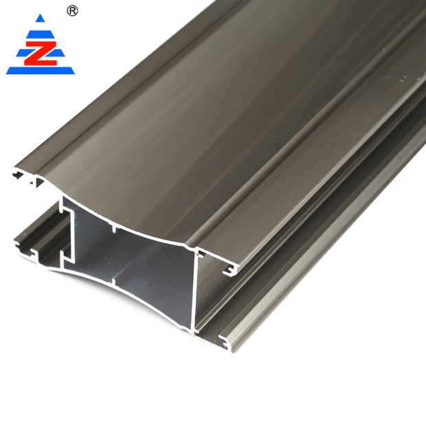 Electrophoresis aluminium profile wardrobe high quality