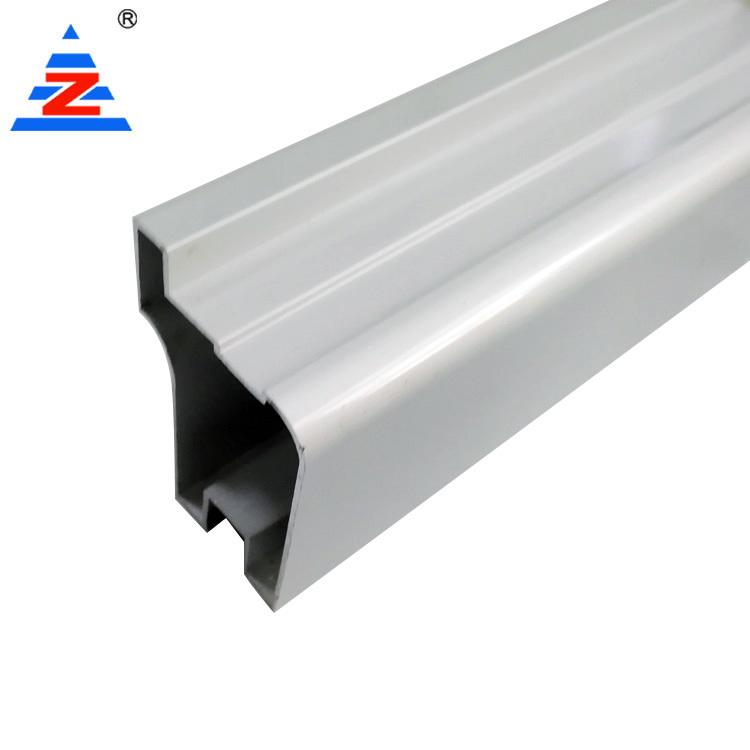 Custom wardrobe aluminium profile silver anodized
