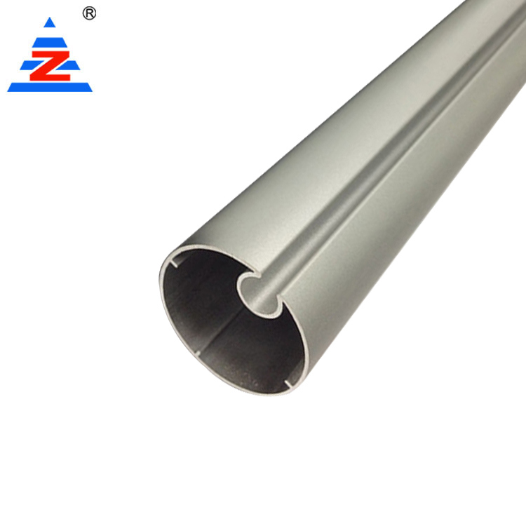 Aluminium track rail of aluminum curtain rod different styles