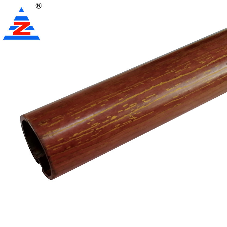 Aluminium curtain pole Rail Track Profiles high quality