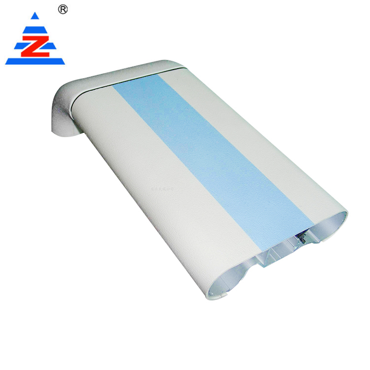 Aluminum profile medical anti-collision handrails hospital wall bumpers