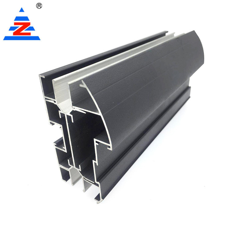 Aluminum Extrusion Profiles Office Partition Double Glass