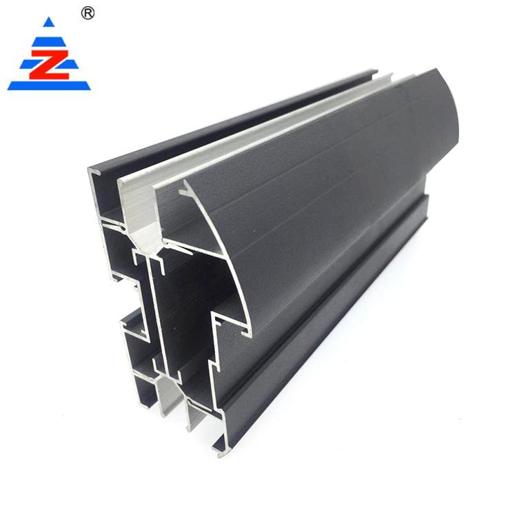 Aluminum Extrusion Profiles Office Partition Double Glass