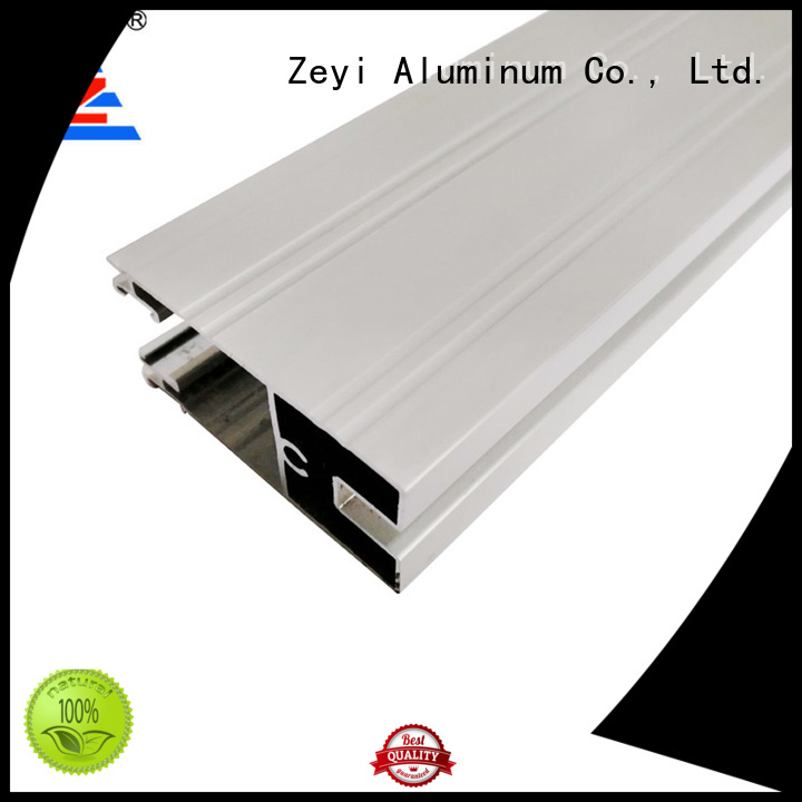 Zeyi door aluminium section window factory for decorate