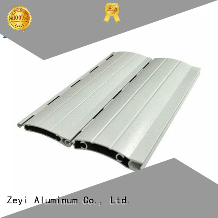 Zeyi New automatic roller shutter doors supply for decorate