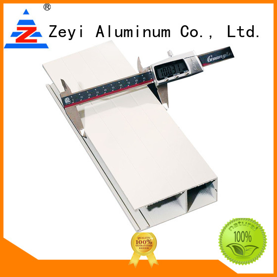 Zeyi quality aluminium roller shutters prices manufacturers for architecture