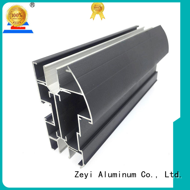 Wholesale extruded aluminium window frames black factory for decorate