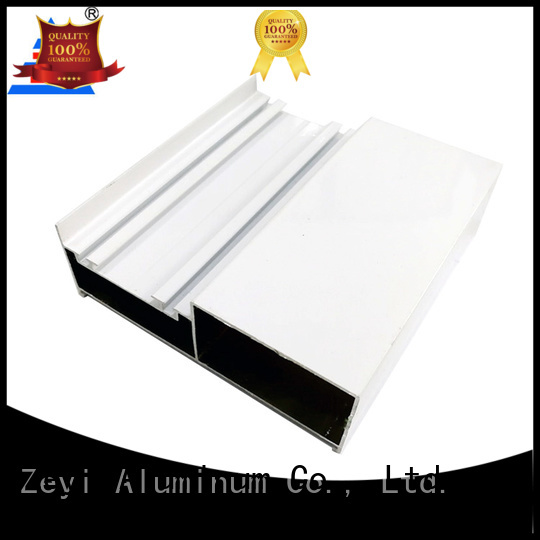 Zeyi different aluminium sliding wardrobe doors suppliers for industrial