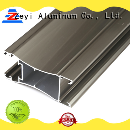 Zeyi profile aluminium kitchen cabinet doors factory for industrial