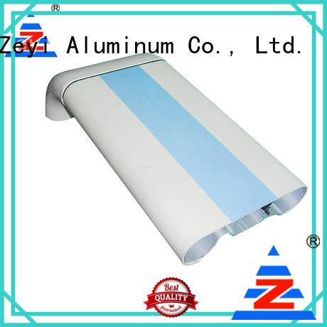 Zeyi Best bespoke aluminium extrusion manufacturers for decorate