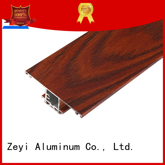 Zeyi Wholesale aluminium glass profile for business for decorate