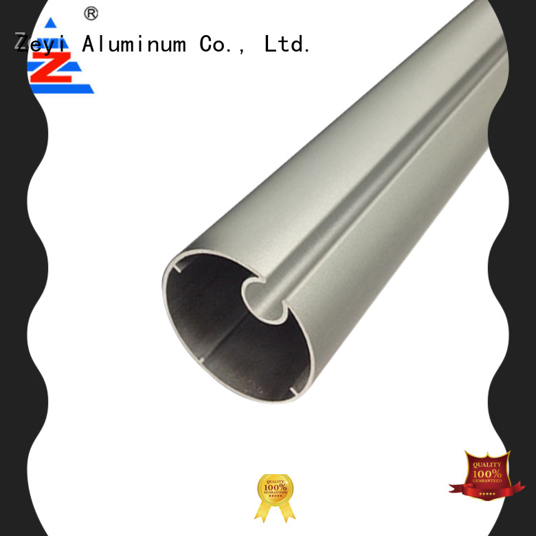 Zeyi aluminum curtain rod clamps company for architecture