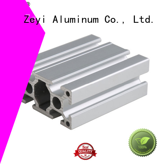 Zeyi solar round aluminium extrusion company for architecture