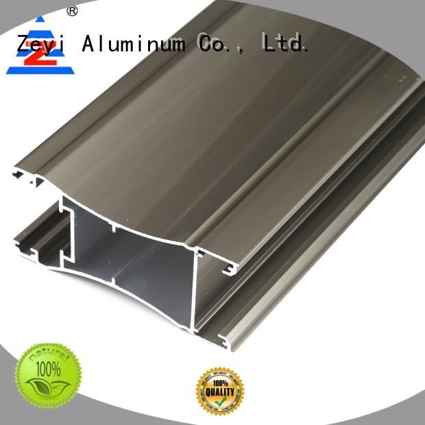 Zeyi Top sliding door profile supply for decorate