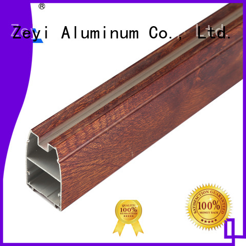 Zeyi profile aluminum profile price list supply for industrial