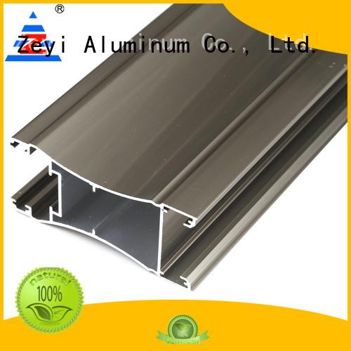 Zeyi New aluminum profile doors suppliers for decorate