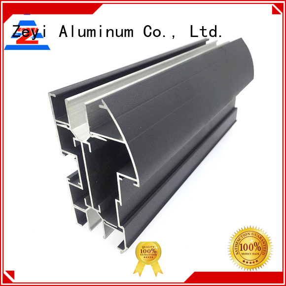 Zeyi profiles window aluminium profile suppliers for architecture