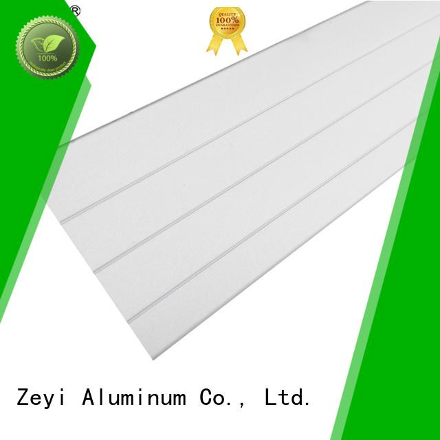 Zeyi aluminium aluminium extrusion catalogue supply for decorate
