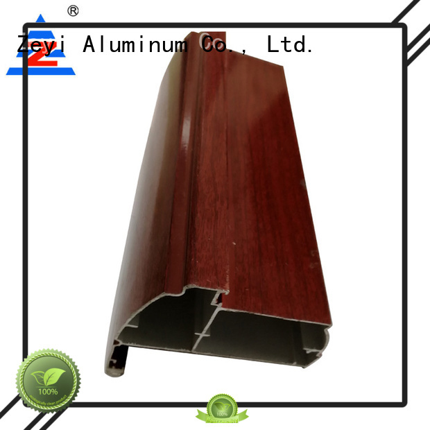 Zeyi coating aluminium profile suppliers factory for home