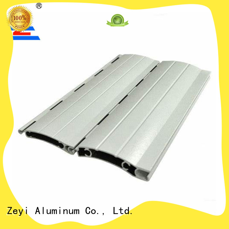 Zeyi aluminum roller shutter engineers factory for home