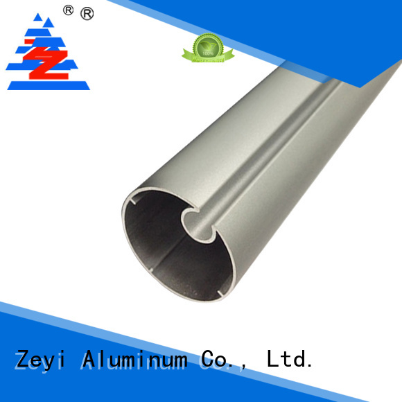 Zeyi aluminium wooden curtain track suppliers for architecture