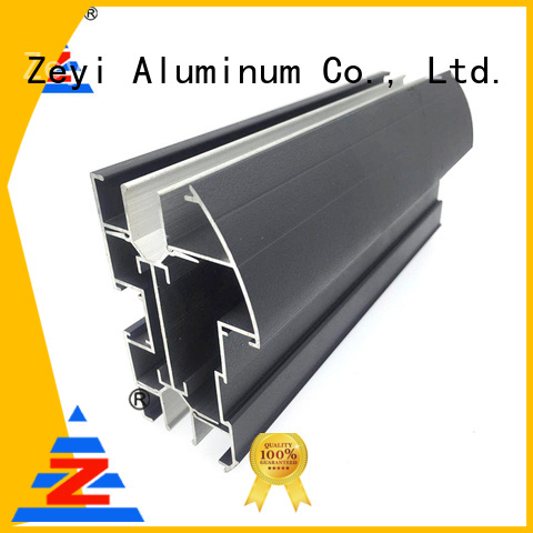 Latest aluminium shower extrusions black suppliers for industrial