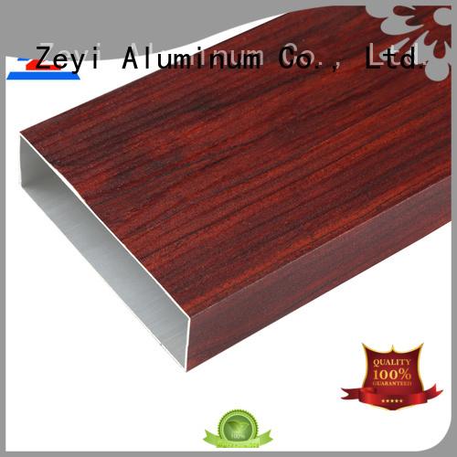 Custom aluminium edge profile wooden factory for industrial