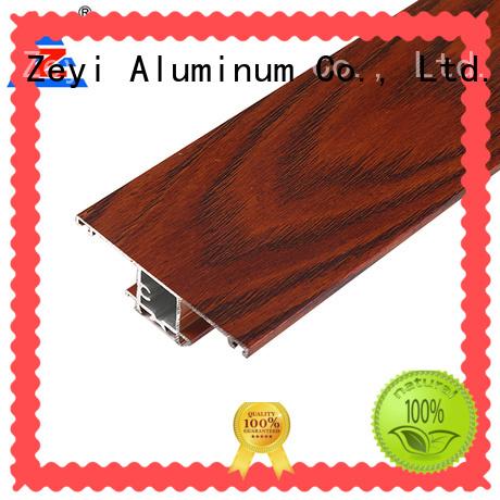 Zeyi sliding wardrobe aluminium profile suppliers for industrial