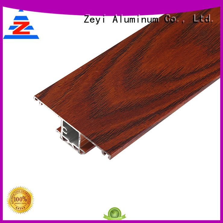 Zeyi wardrobe aluminium sliding channel supply for architecture