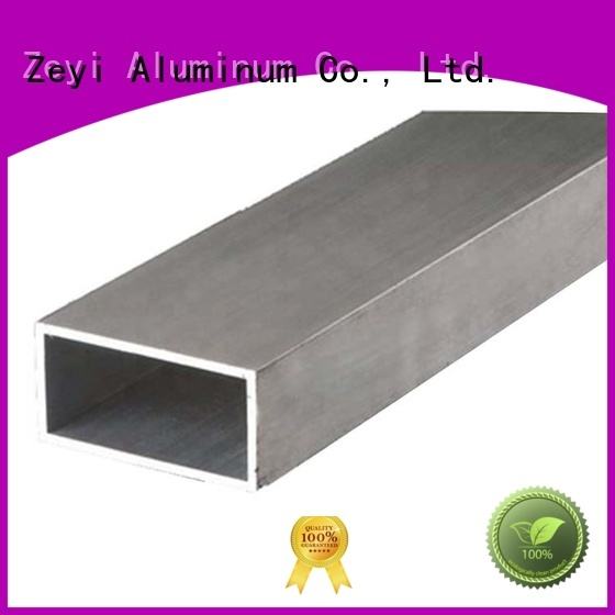 Zeyi shape 5 inch aluminum pipe suppliers for architecture