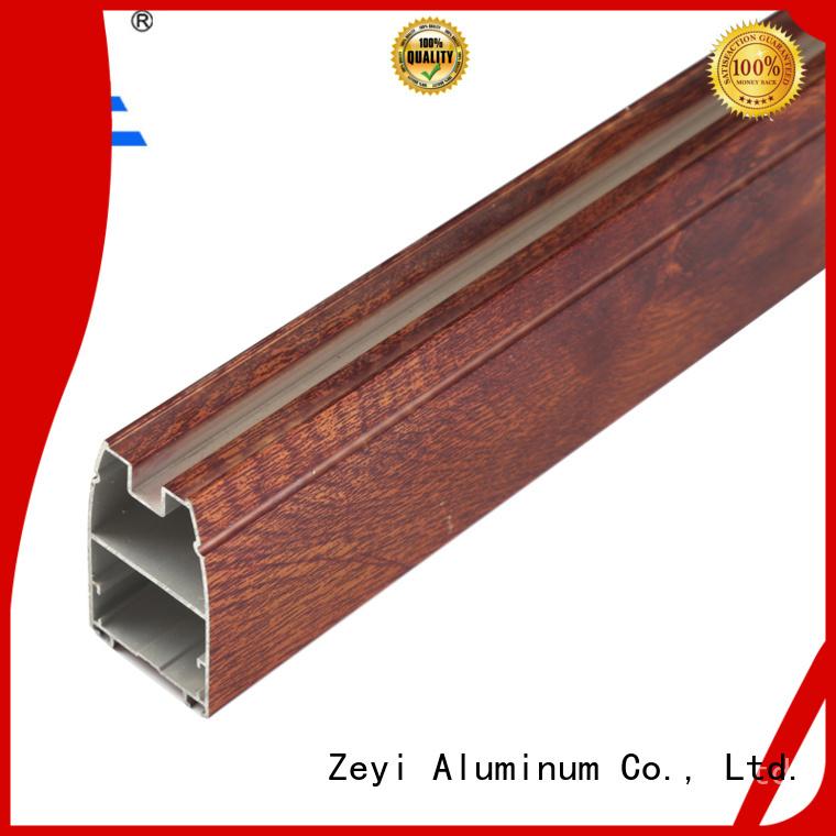Zeyi Custom slim sliding door wardrobe supply for decorate