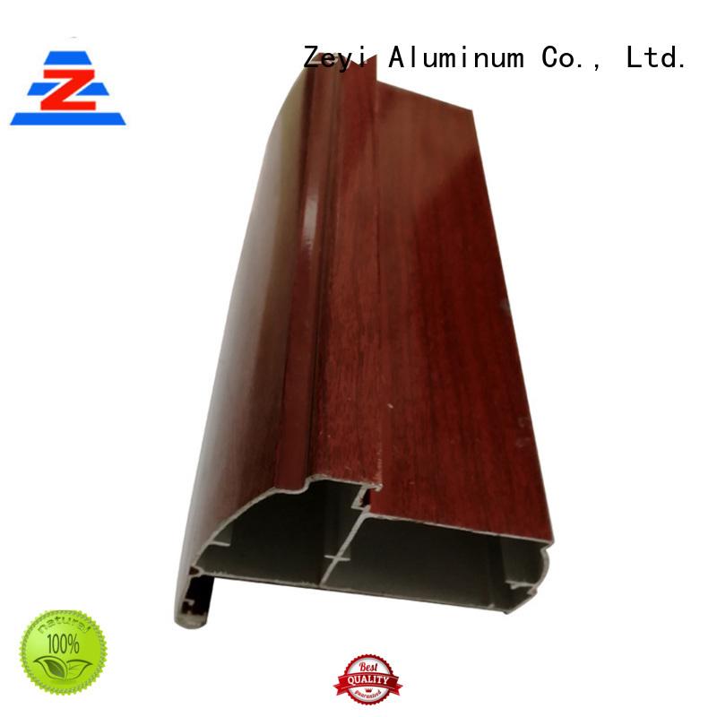 Custom latest aluminium doors and windows coating suppliers for architecture
