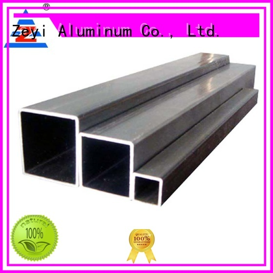 Zeyi t5 2x3 aluminum tubing factory for architecture