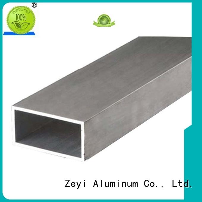 Zeyi Wholesale 1 x 1 aluminum square tubing factory for architecture