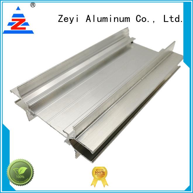 Zeyi glass aluminium frame glass wall company for decorate