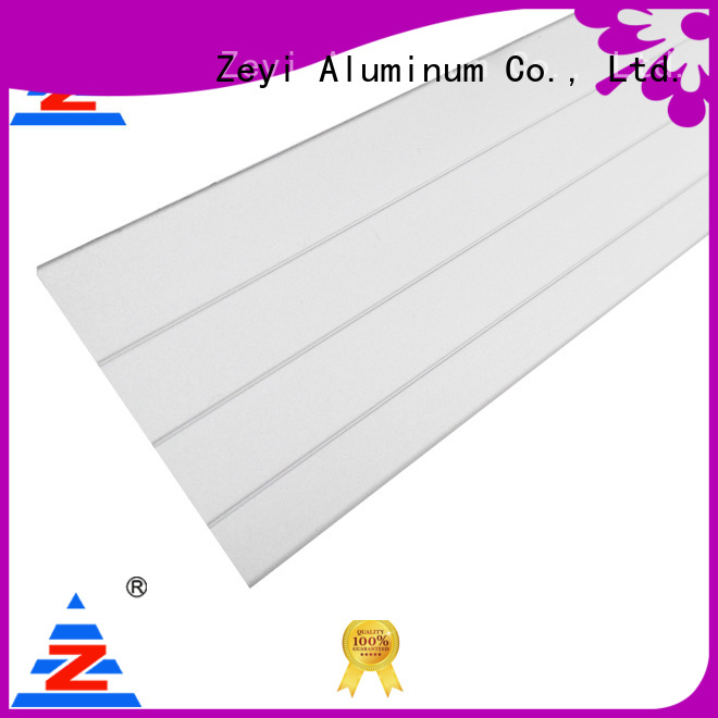 Zeyi New aluminium profile structure for business for decorate