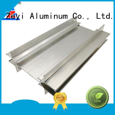 Zeyi Best aluminium frame glass wall factory for decorate