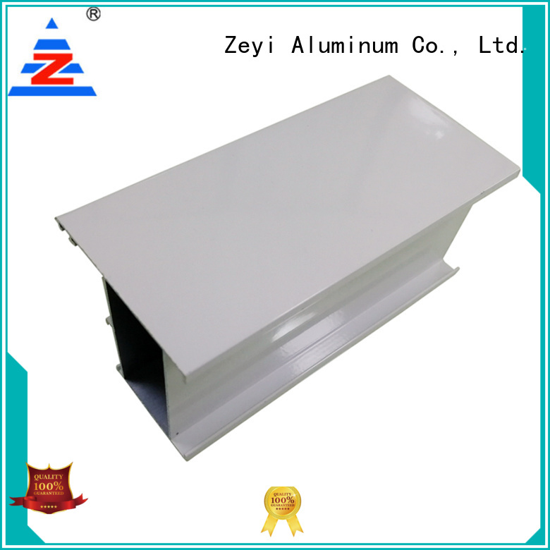 Zeyi wardrobe aluminium extrusion frame system suppliers for home