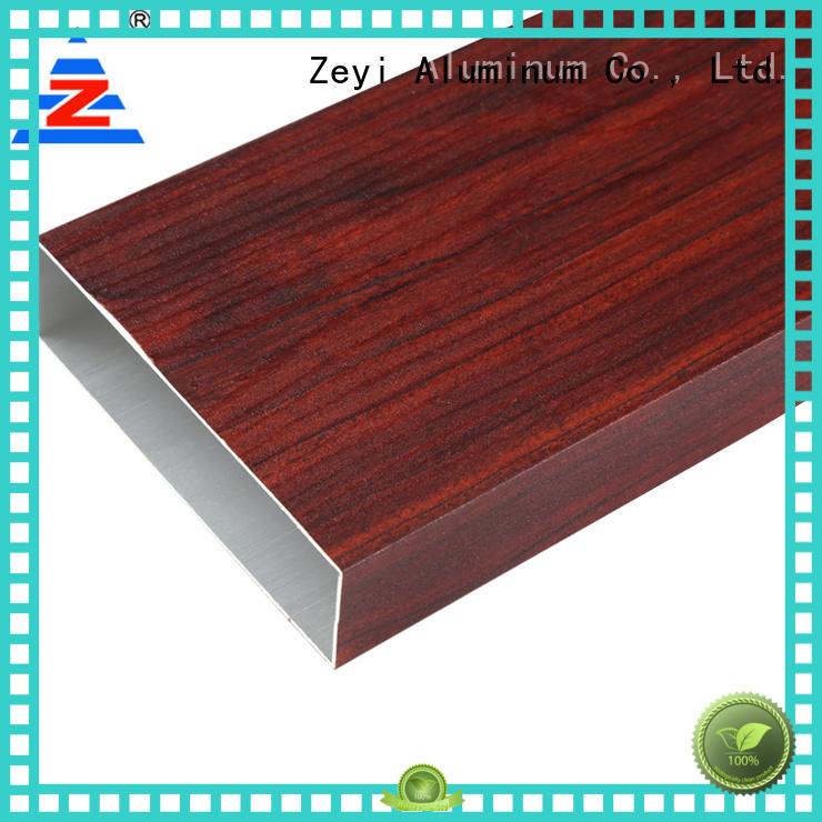 Zeyi colors aluminium wardrobe profiles suppliers for home