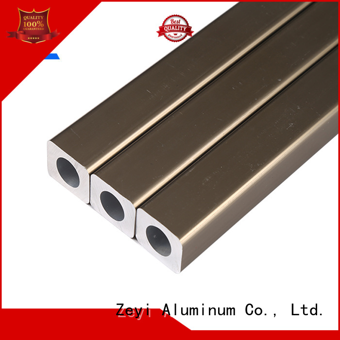 Custom aluminium box section sizes aluminum supply for industrial