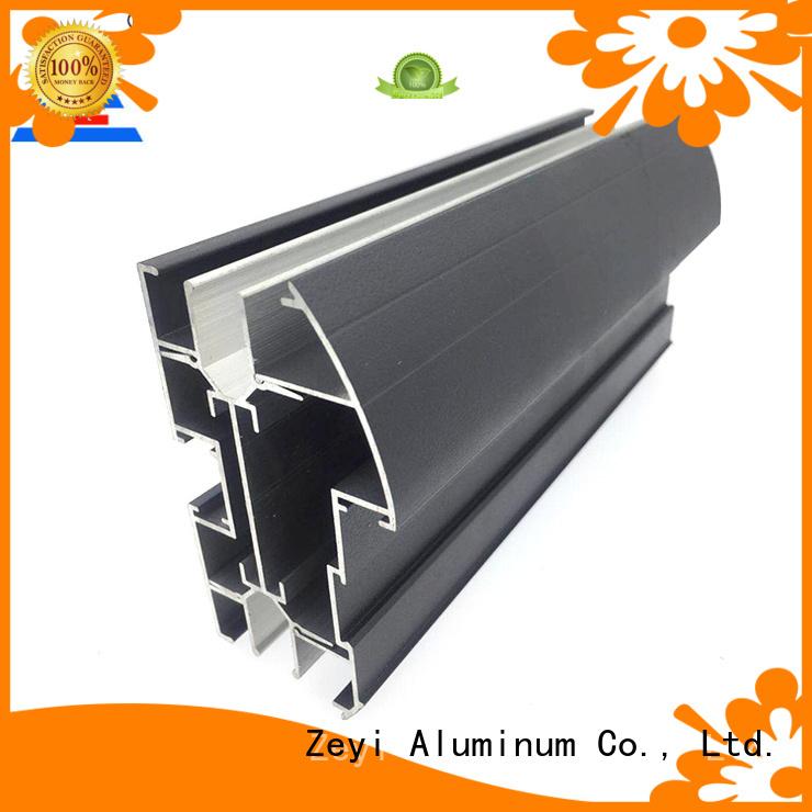 Zeyi powder office partition aluminium profiles company for architecture