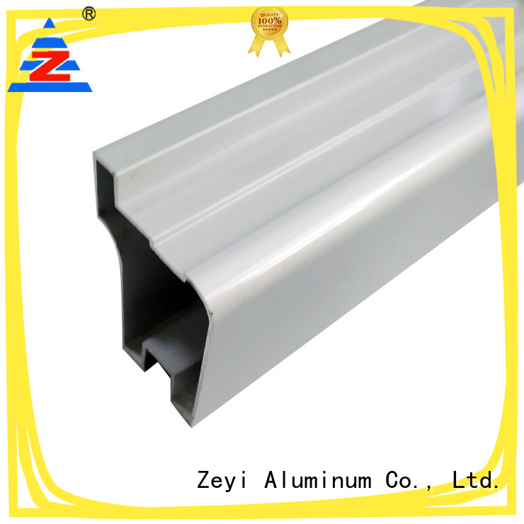 Zeyi electrophoresis aluminium profile distributor company for architecture