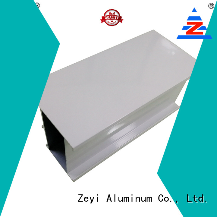 Zeyi High-quality aluminium profile section factory for decorate