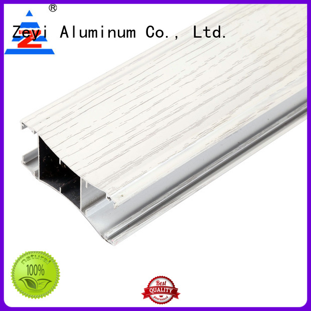 Zeyi Latest aluminum profile price list manufacturers for architecture