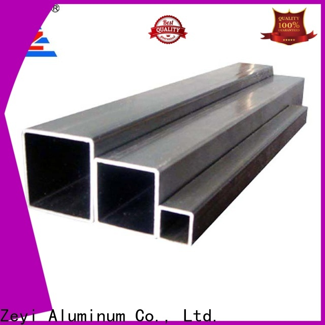 Custom oval aluminum tubing suppliers extrusion factory for architecture