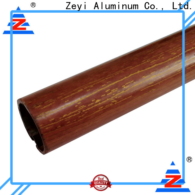 Zeyi track thin wooden curtain pole for business for home