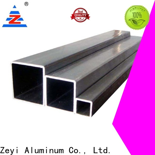 Custom 6061 aluminum square tubing alloy manufacturers for decorate